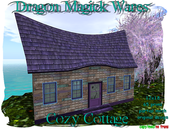 Cozy Cottage Ad